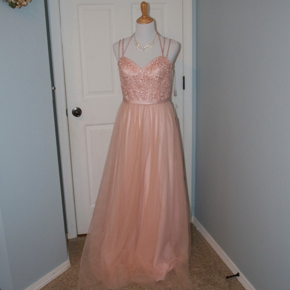 8238cb46210 NWT Morilee Tulle Affairs   151 Blush Color Sz 10